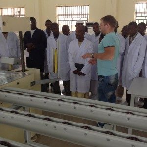 Solar power plant in Nigeria